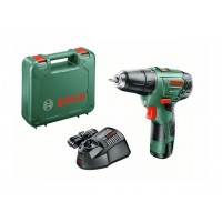 Аккум. дрель-шуруповерт BOSCH EasyDrill 12-2 в чем. (12.0 В, 1 акк., 2.5 А/ч Li-Ion, 2 скор., 22 Нм, шурупы до 6 мм) (060397290V)